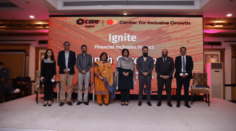 'Ignite' by CARE International and Mastercard to Impact Millions of Entrepreneurs Across Pakistan