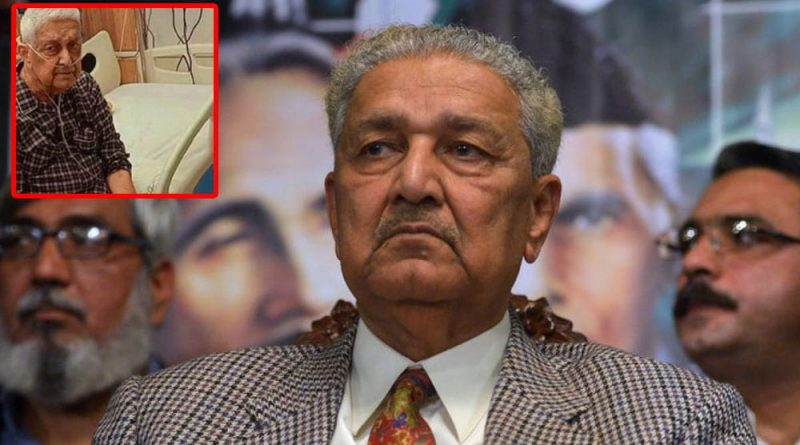 Dr. Abdul Qadeer Khan is Out Of Danger Now