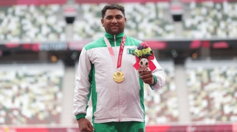 Haider Ali Becomes First Pakistani Gold Medalist At Paralympic Games