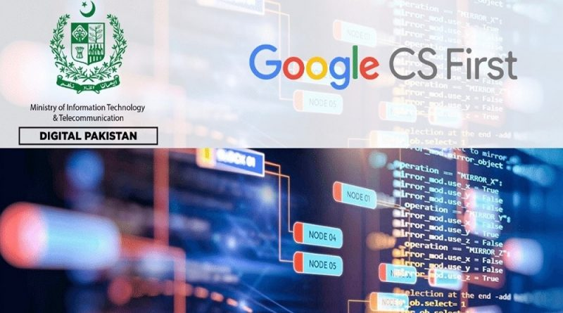 IT Ministry to Extend Google's CS First Program to All of Pakistan