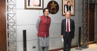 Ramiz Raja Officially Takes Charge as New PCB Chairman