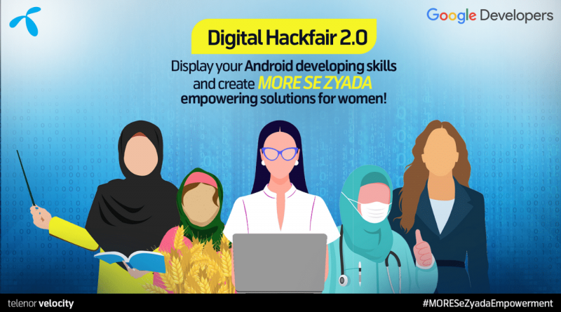 Telenor Velocity Launches Digital Hackfair 2.0 in Collaboration with Google
