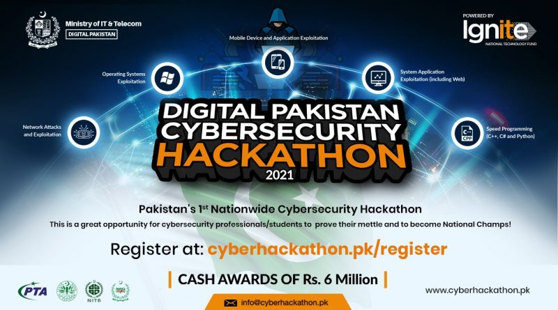 IT Ministry and Ignite Launch Digital Pakistan Cybersecurity Hackathon 2021
