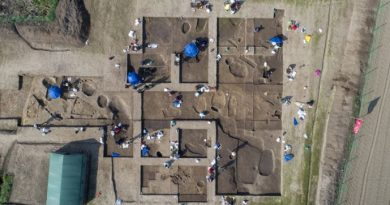 4 ancient tombs unearthed in China's Hunan