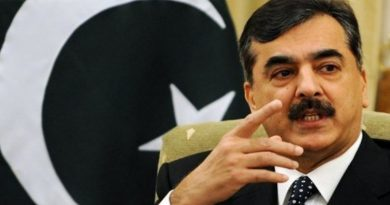 PPP leader Yousuf Raza Gilani stopped from travelling to Italy